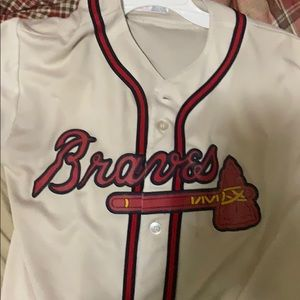 Atlanta braves baseball jersey